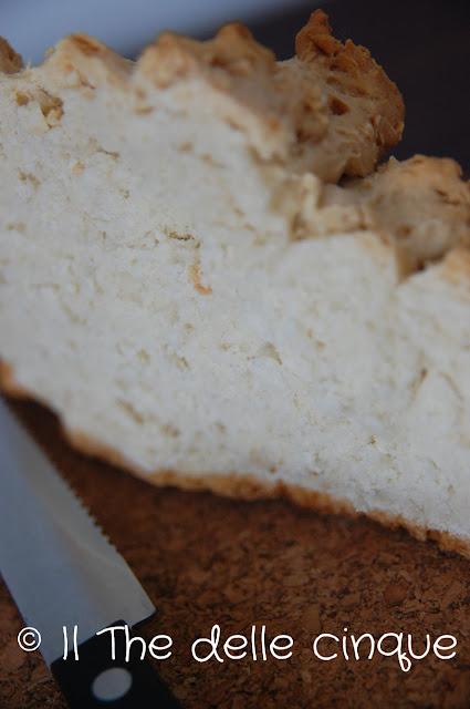 pane bianco e ancora neve