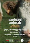 """Proyección Documental """"Sanidad animal: relato de un conflicto""""."""