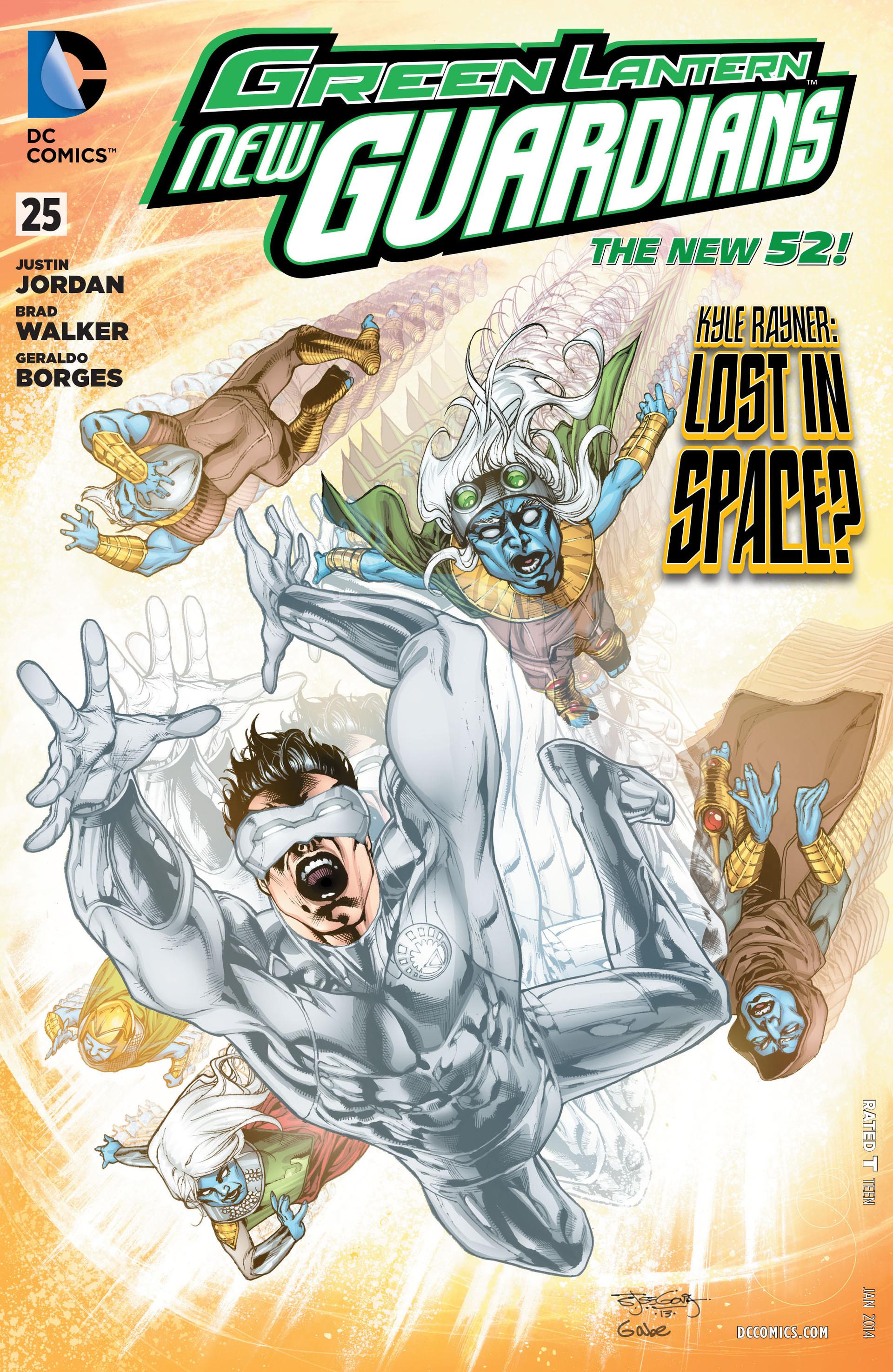 Green Lantern: New Guardians 25 Page 1