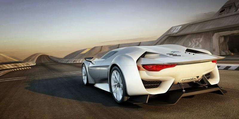 sport cars concept cars cars gallery citroen gt concept sports car. Black Bedroom Furniture Sets. Home Design Ideas