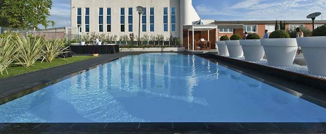 grès porcellanato per esterno, terrazzi piscine, AUS Forlì
