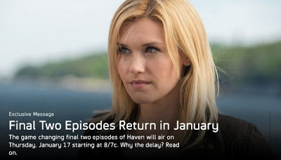 Haven episodes 12 & 13 of season 3 this Thursday, click for a preview on Syfy.com
