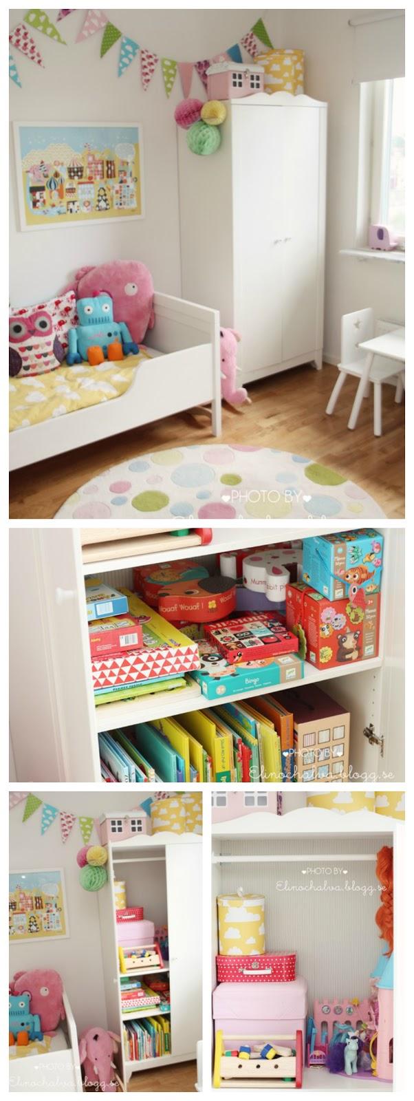 Aparador Vidro Preto ~ Baby Deco Nuevos usos Armario Hensvik como juguetero