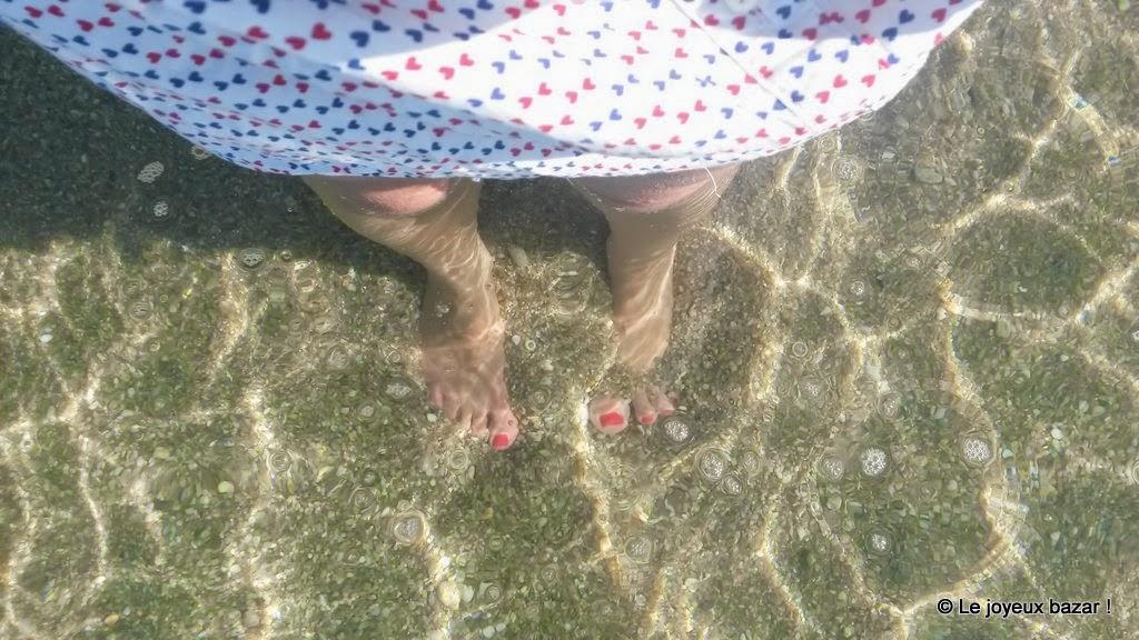 Bretagne - eau transparente - baignade