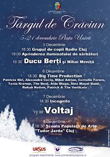 Targ de Craciun Piata Unirii Cluj-Napoca 2012