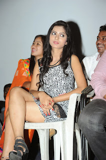 Actress Ruby Parihar Pictures in Short Dress at Premalo ABC Movie Audio Launch Function  68