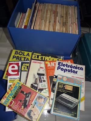 Revistas de eletrônica brasileiras