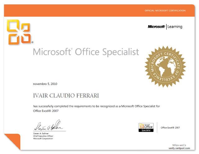 Excel, Excelmax, Microsoft, Office, Ivair, ivairferrari, ferrari