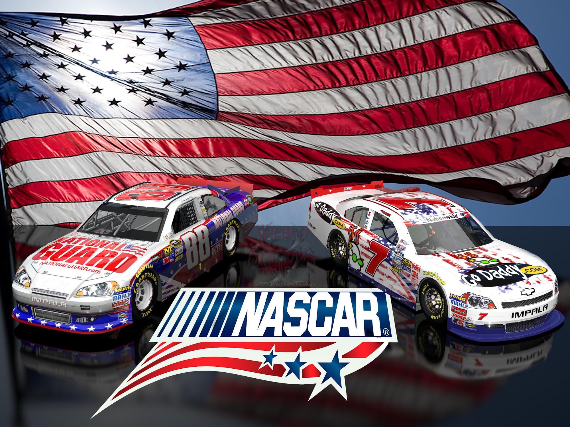 Danica Patrick Dale Earnhardt Jr NASCAR Unites wallpaper 4x3