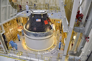 ORION CREW MODULE SITS