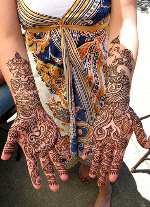 Arabic Mehndi Designs for Girls Beautiful Henna Patterns 2011