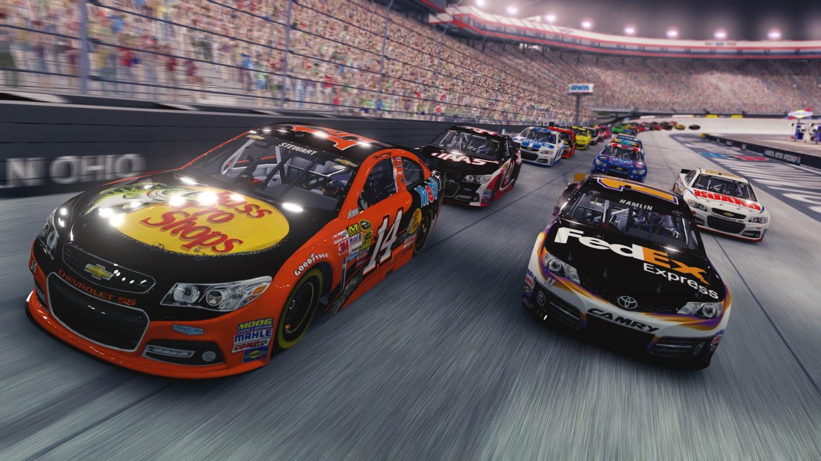NASCAR'14 Screenshot 1 - Ohgamegratis 1