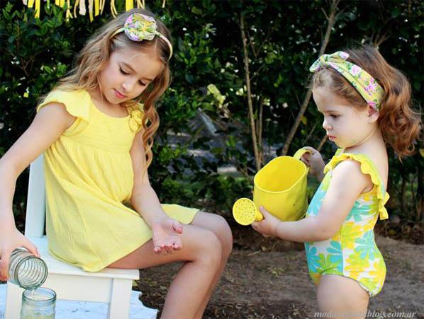 moda infantil 2014 accesorios para niñas