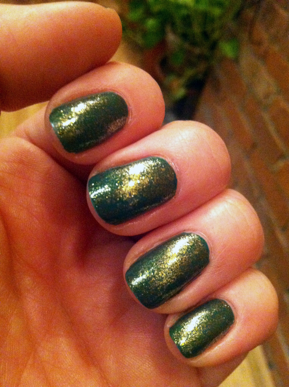 Nail of the Day- Jade is the New Black + Goldeneye | Makeup & Beauty ...