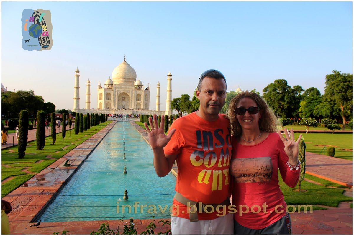Taj Mahal, 9ª Maravilla.