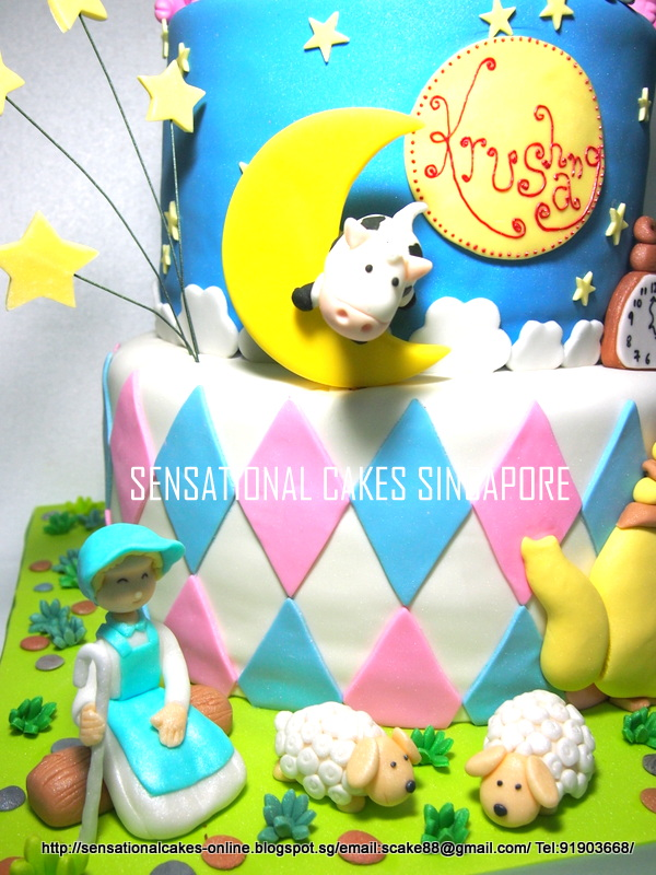The Sensational Cakes Nursery Rhymes 3 Tier Cake