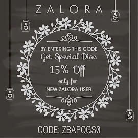 ZALORA DISC CODE!