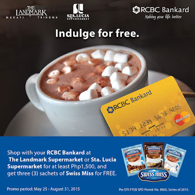 RCBC Bankard: Spend and Get FREE Swiss Miss