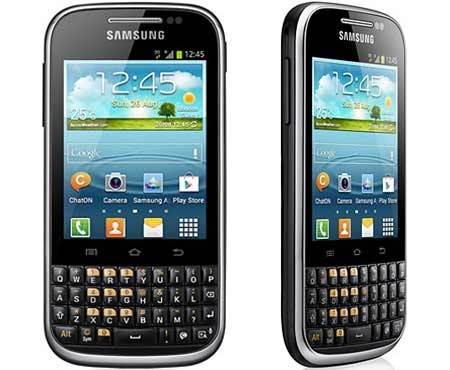 Handhphone Samsung Galaxy Chat