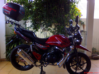 Suzuki Thunder 125 modif touring