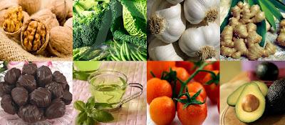 Foods that make Skin Beautiful & Shiny
