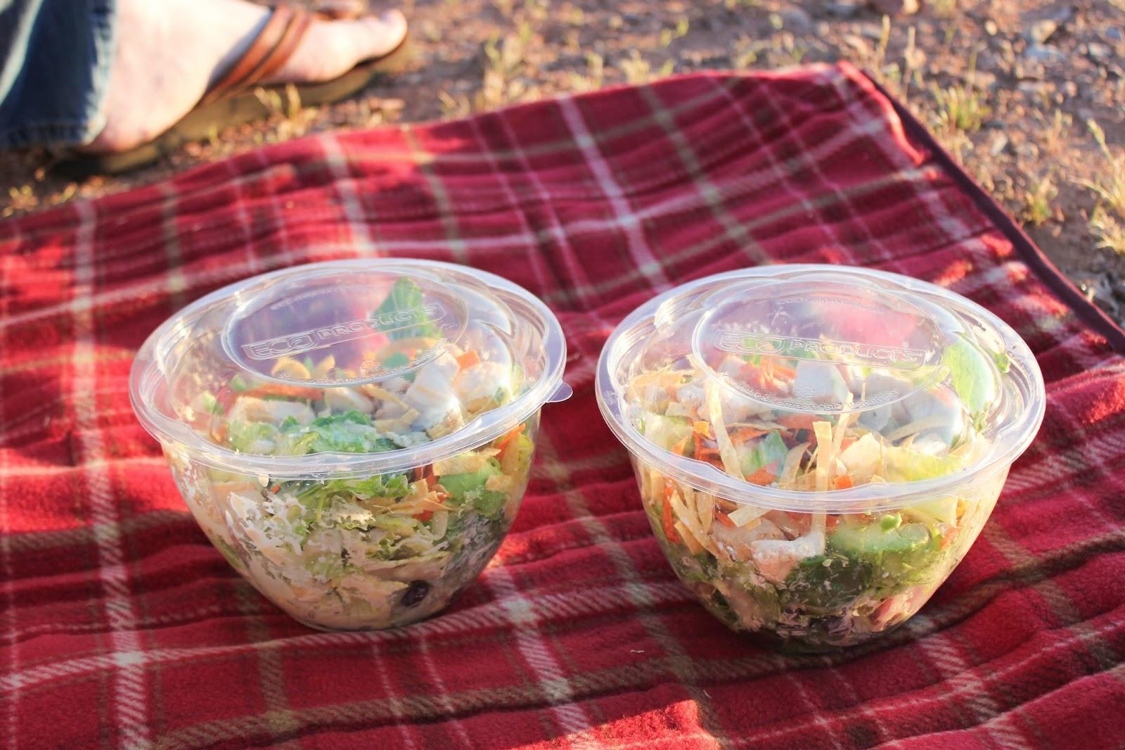 Romantic sunset picnic for Romantic food