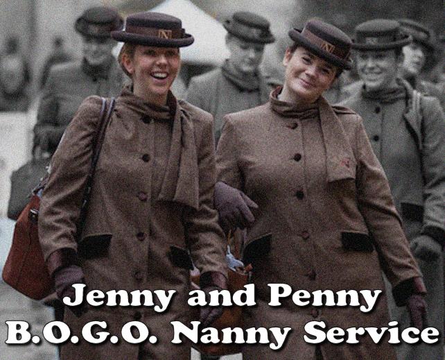 Jenny and Penny B.O.G.O. Nanny Service