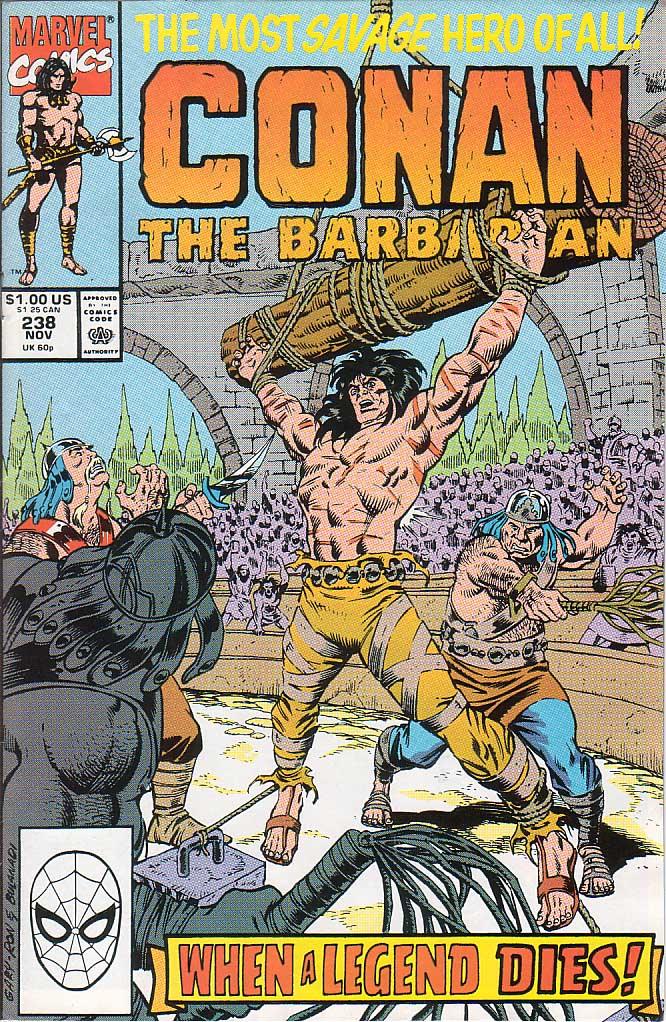 Conan the Barbarian (1970) Issue #238 #250 - English 1