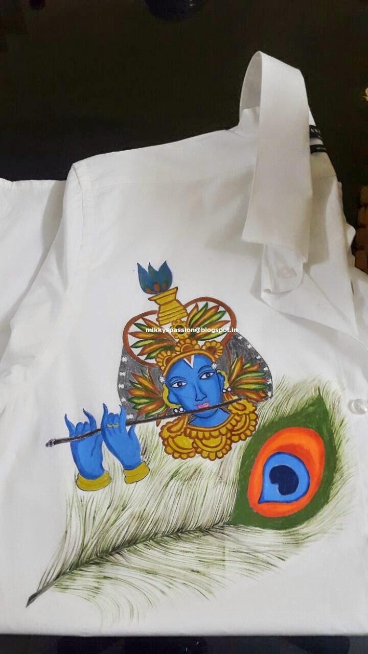 mural design on shirt