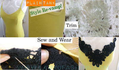 Fashion Tales - DIY Tops Knit