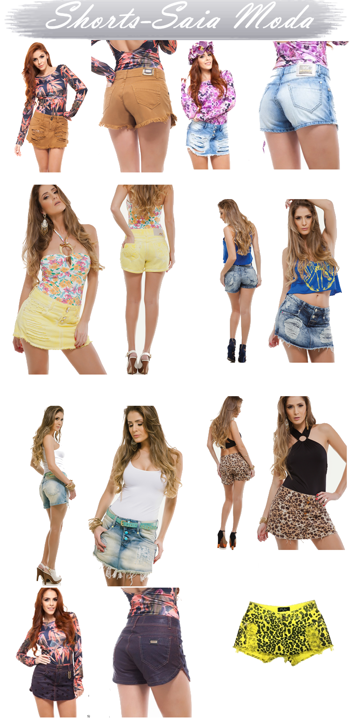 Voltou a moda do Shorts-Saia!!!