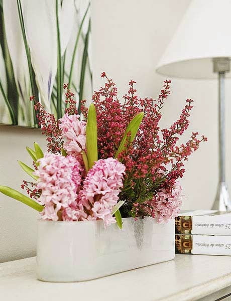 Vicky s home decora con brezo decorate with heather flower