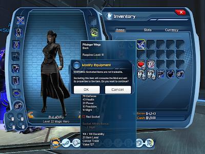 DC Universe Online - Modifying Equip 2
