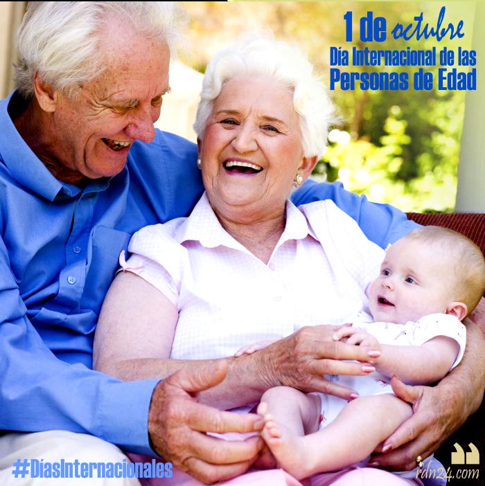 1 de octubre – Día Internacional de las Personas de Edad #DíasInternacionales