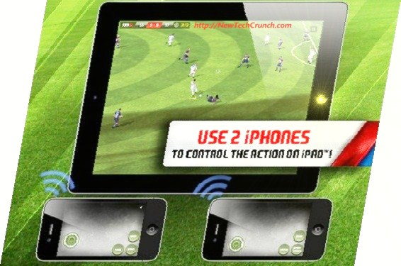FIFA 12 iPhone iPad game 2012