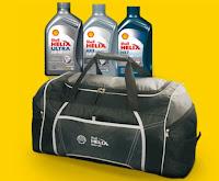 Promoção Bolsa Esportiva Shell Helix