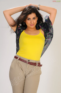Cleavage Hot Archana Veda in hoott yellow dress Pretty