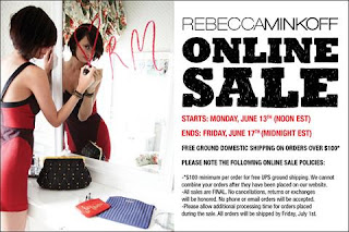 Rebecca Minkoff | Fashion | Clothing | Shoes | Handbags | Online | Sale