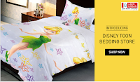 Buy disney toon bedding store from Rs 499 Via snapdeal