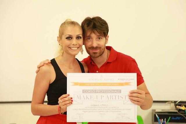 Rossano De Cesaris MakeUp Artist Course