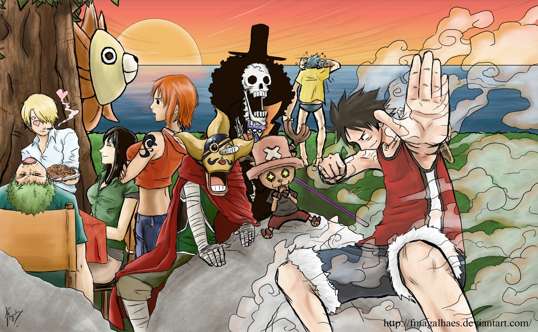 One Piece Chapter 736: Chỉ huy cấp cao: Diamante 017