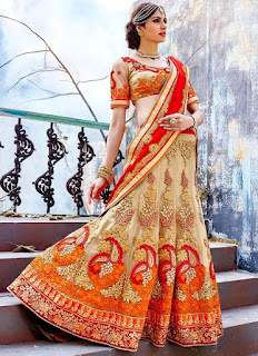 Alluring Net A Line Lehenga | Off White Brilliant Lehenga Suits