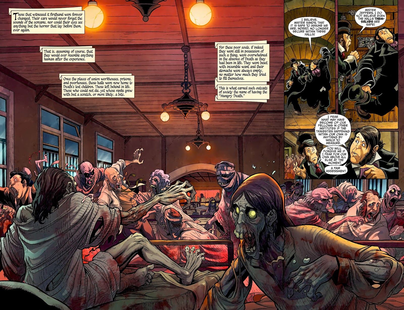 Zombies Christmas Carol Issue #1 Page 5