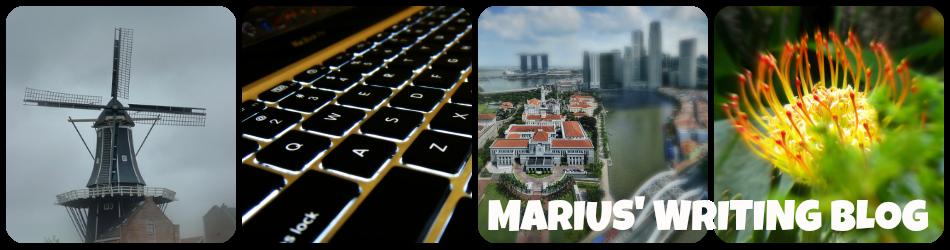 Marius' Writing Blog
