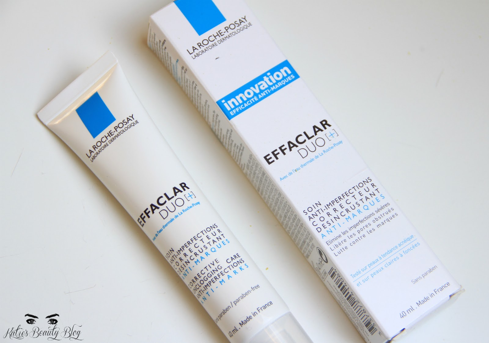 review la roche posay effaclar duo katie snooks. Black Bedroom Furniture Sets. Home Design Ideas