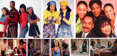 Imágenes de la serie americana Cosas de hermanas