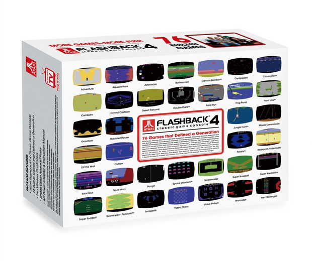 Atari Flashback 4 Classic Games Console