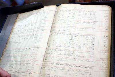 Geschäftsbuch von Slocum & Ferris von 1915