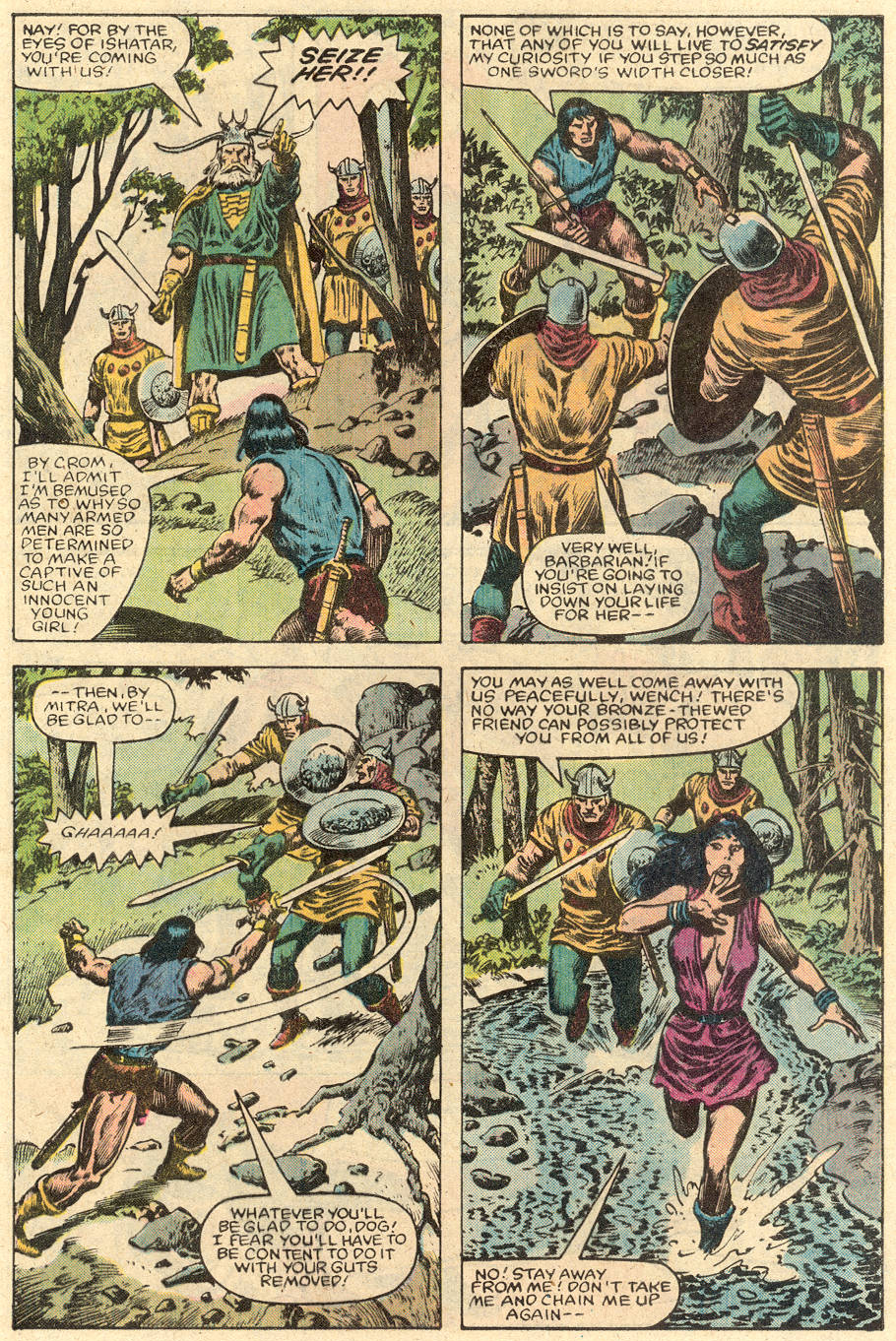Conan the Barbarian (1970) Issue #150 #162 - English 7