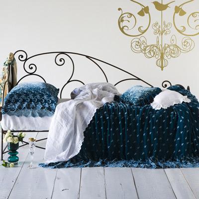 Baby Crib Bedding: Baby Purple Patterened Crib Bedding Set